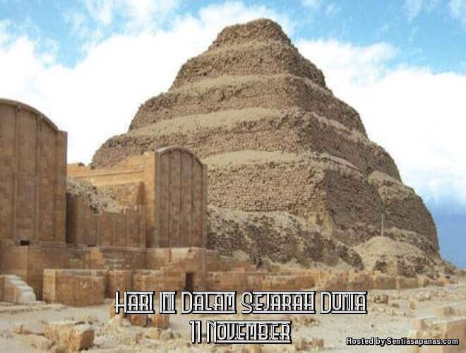 Peristiwa Penting Hari Ini Dalam Sejarah Dunia (11 November)