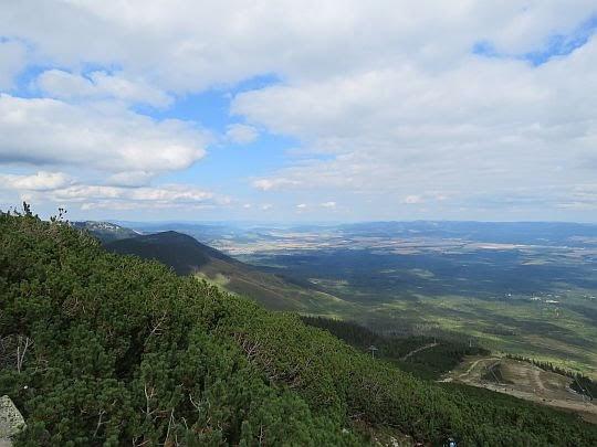 Widok na Spisz i Góry Lewockie.