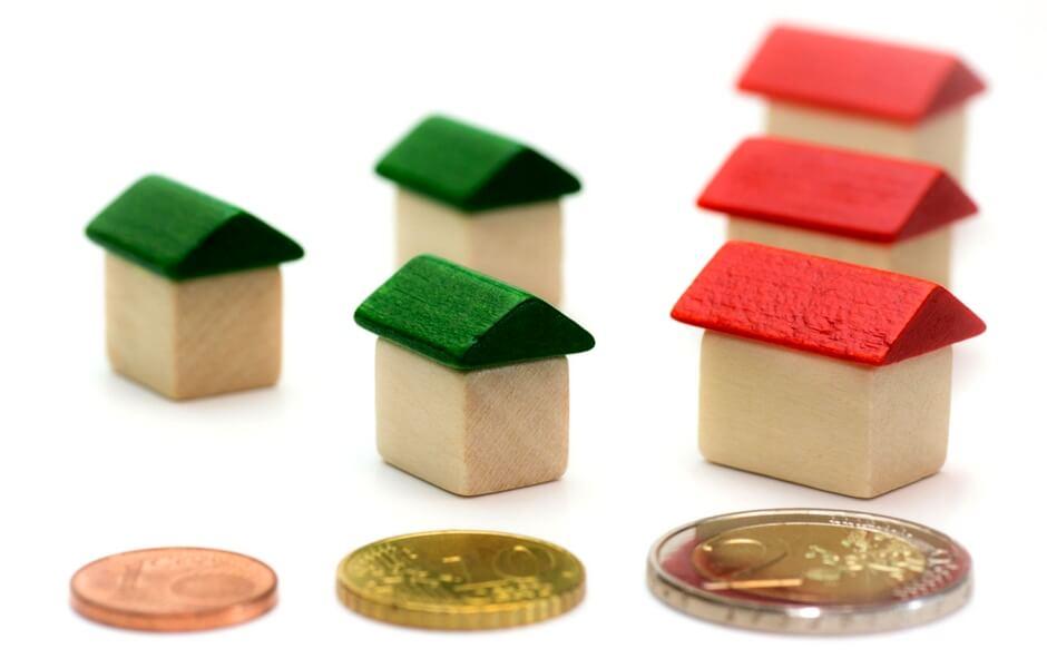 Hypotheek geld houten huis