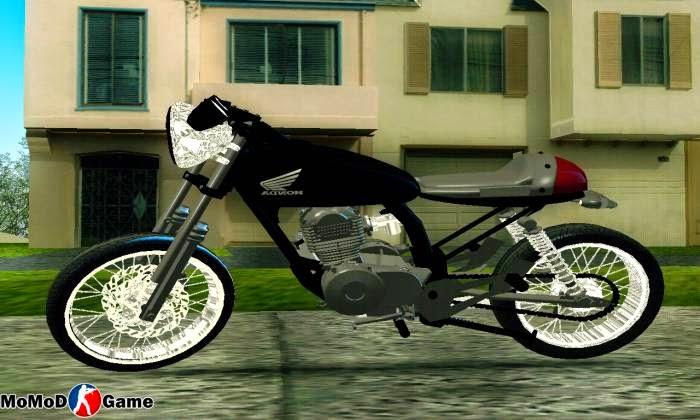 Hoda CB 360 Semi Drag Mod GTA San Andreas