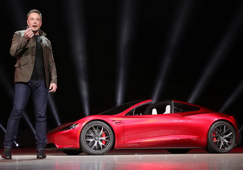 Tinuku Tesla Roadster sports car hit 2020 for $200,000