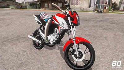 Download , Mod , Moto, FAN 160 DICHAVADA PC e ANDROID para GTA San Andreas, GTA SA, PC , JOGO , Android