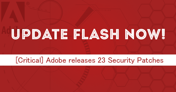 Adobe Releases 23 Security Updates for Flash Player