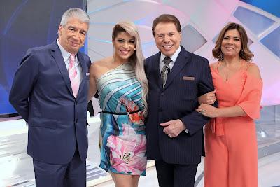 Décio, Adryana, Silvio e Mara - Crédito da imagem: Lourival Ribeiro/SBT
