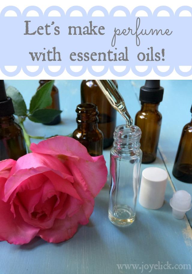 DIY Perfume: How to blend essential oils for homemade