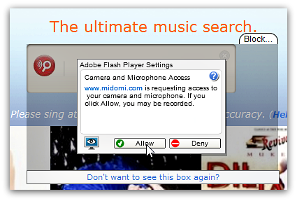 midomi-search-music-easy