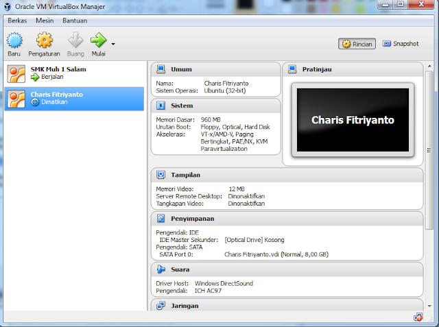 Langkah Install Linux