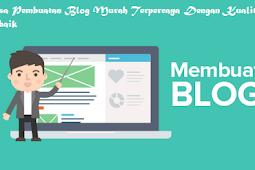 Jasa Pembuatan Blog Murah dan Berkualitas Cianjur
