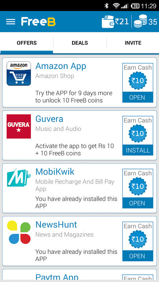 Updated] Earn Rs50 Per Refer Install FreeB app Get Unlimited Free