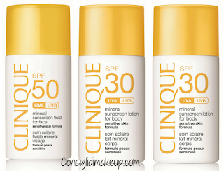 nuovi solari clinique mineral sunscreen