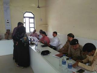 एसपी महोदय उप जिलाधिकारी द्वारा तहसील अमरिया में किया गया सम्पूर्ण समाधान दिवस का आयोजन, सुनी जनता की समस्याएं
