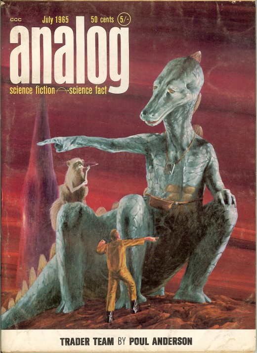 Analog Science Fiction Magazine 1960s Vintage Everyday