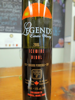Legends Estates Vidal Icewine 2006 (91 pts)