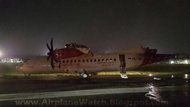 ATR-42-600 Passenger Plane Massive Damage