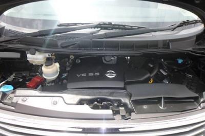 Foto Mesin Nissan Elgrand E51 3.5 Liter V6