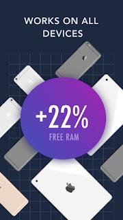 تطبيق مجاني لتحرير ذاكرة الرام وتسريع الايفون والايباد GetSpace RAM