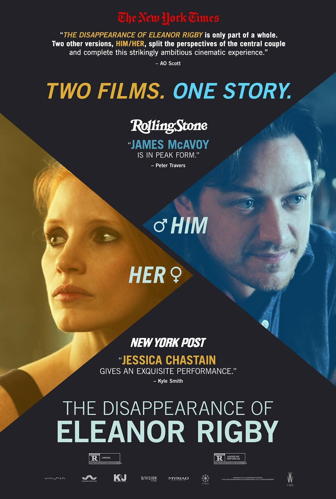 Nonton Film The Disappearance of Eleanor Rigby: Her (2013)