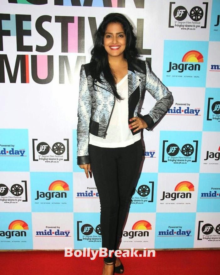 Vishakha Singh, 5th Jagran Film Festival Red Carpet Pics