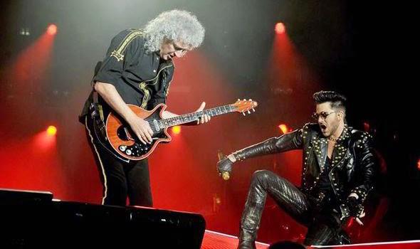 Ele vai sacudir você! Adam Lambert com Queen no Arena Wembley