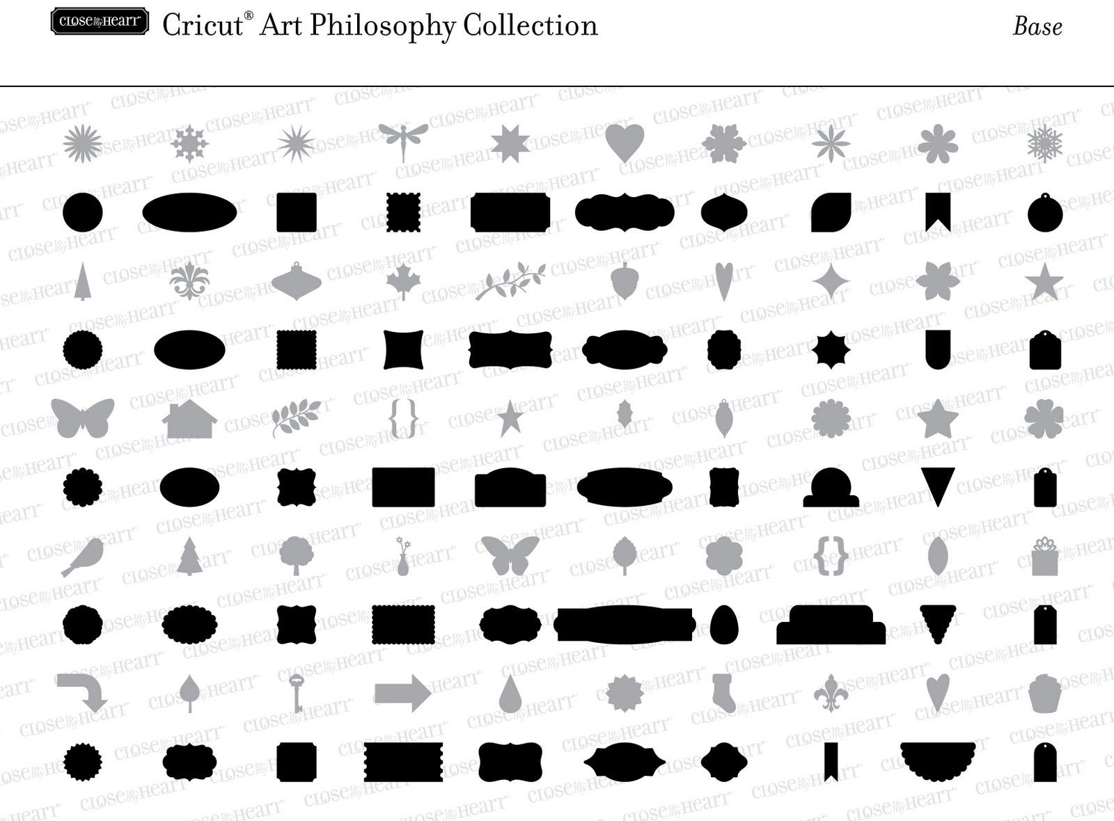 Lisa S Creative Corner Art Philosophy Cricut Cartridge Images