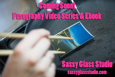 Sassy Glass Studio, Fusography, video, workshop, ebook