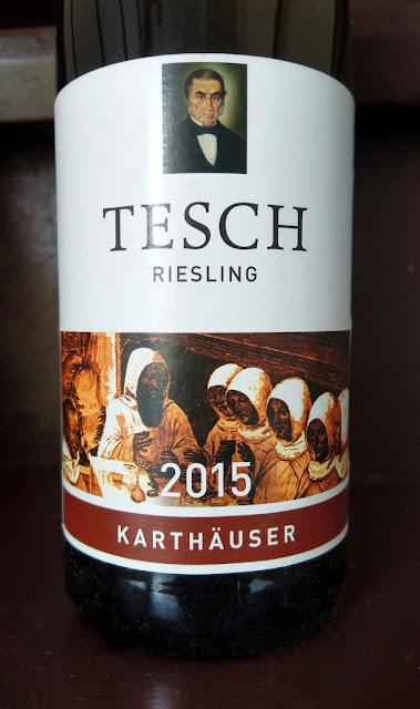 Karthäuser Riesling Weingut Tesch