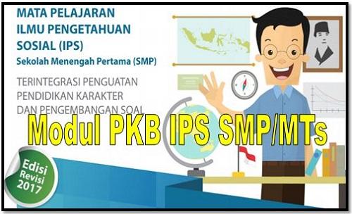 Contoh Modul PKB IPS Sekolah SMP/MTs Edisi Revisi 2018