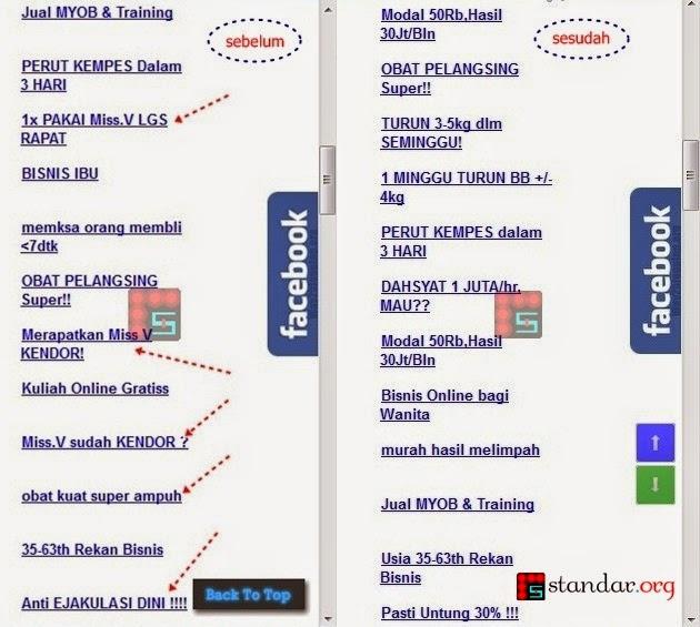 Panduan Blokir / Filter Iklan Dewasa dari KlikSaya.com-1