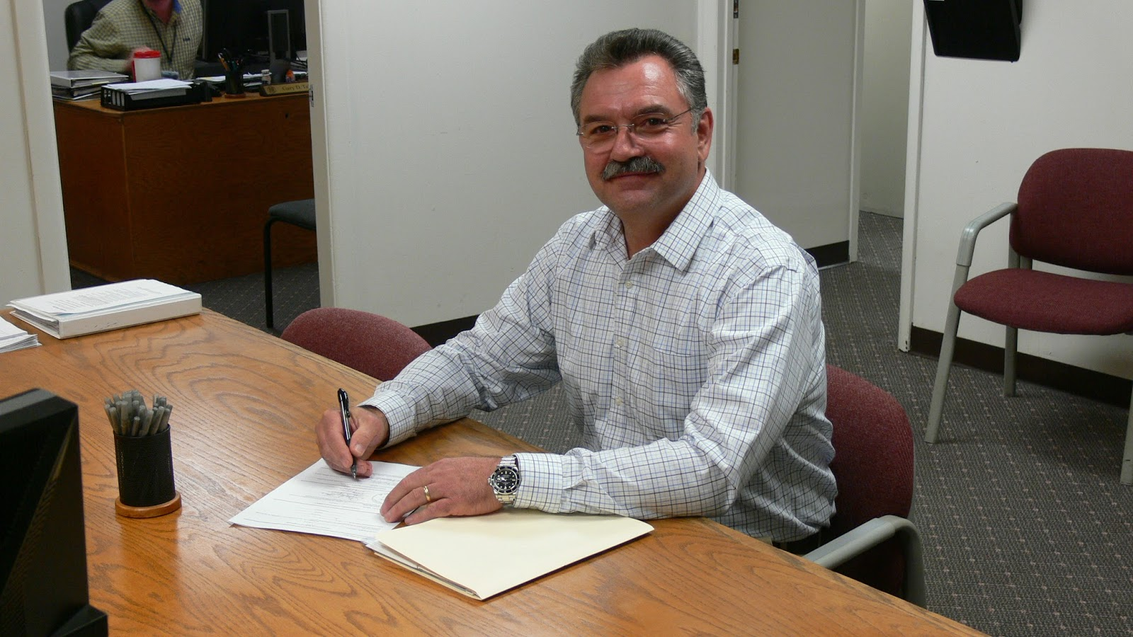 Karl Gillespie files for District II County Commissioner
