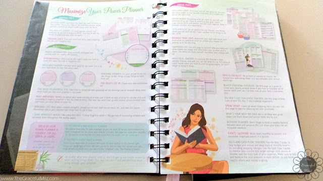 2016 Belle De Jour Power Planner - Introductions - Picture (Review at http://www.TheGracefulMist.com/)