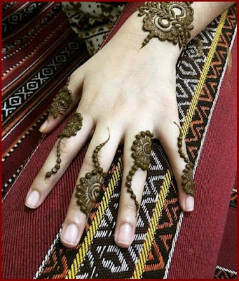 mehandi designs for fingers only