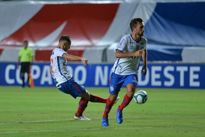 Bahia goleia o Moto Club e garante classificação no Nordestão