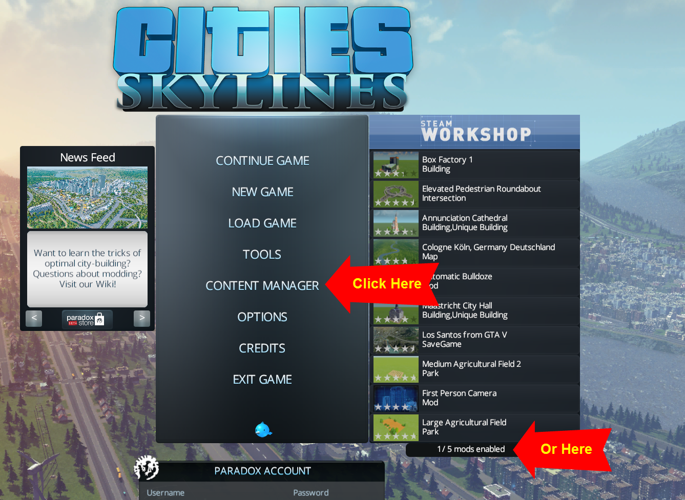 The Skylines Planning Guide: Mod Installation Guide