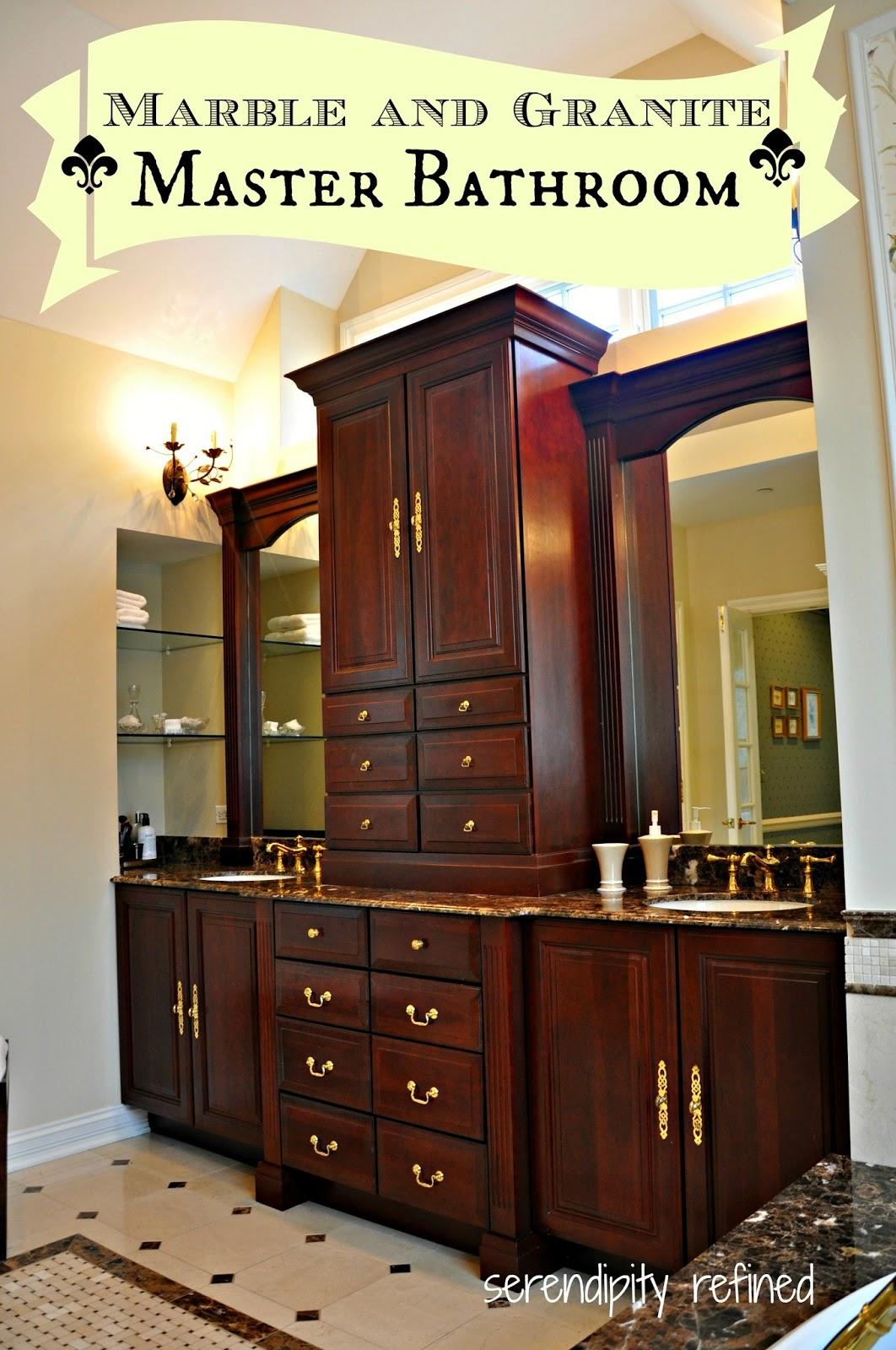 Serendipity Refined Blog: Master Bathroom Reveal
