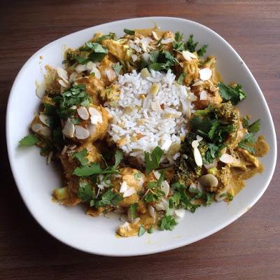 Indiase curry met Ikea kipballetjes