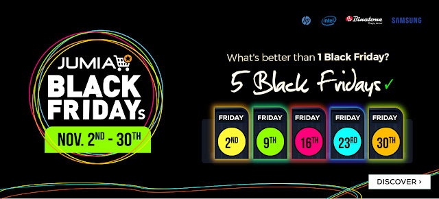Jumia Black Friday 2018 date Amazing Deals and Discounts