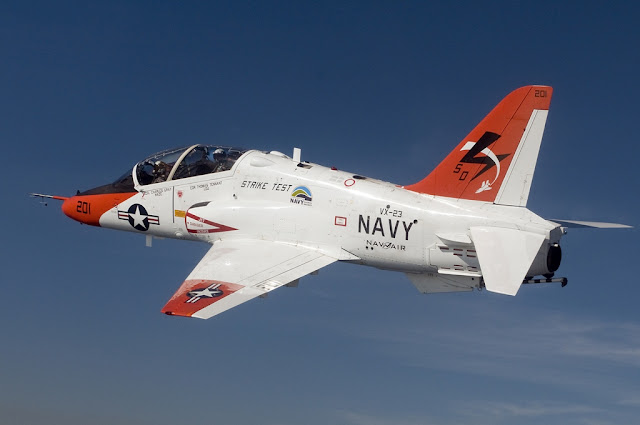 US NAVY TRAINER JET CRASHES, PILOTS EJECTED SAFELY