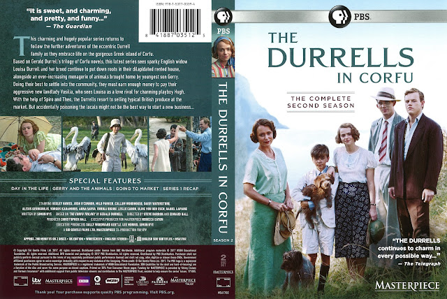 The Durrells in Corfu Season 2 DVD Cover