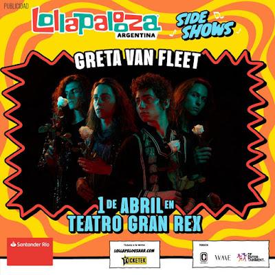 Lollapalooza Argentina confirmó un nuevo sideshow.