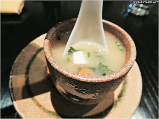Dine Out Boston Marzo 2016 Oishii: Miso Soup