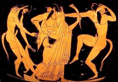 Resultado de imagen para dibujo musica grecia antigua