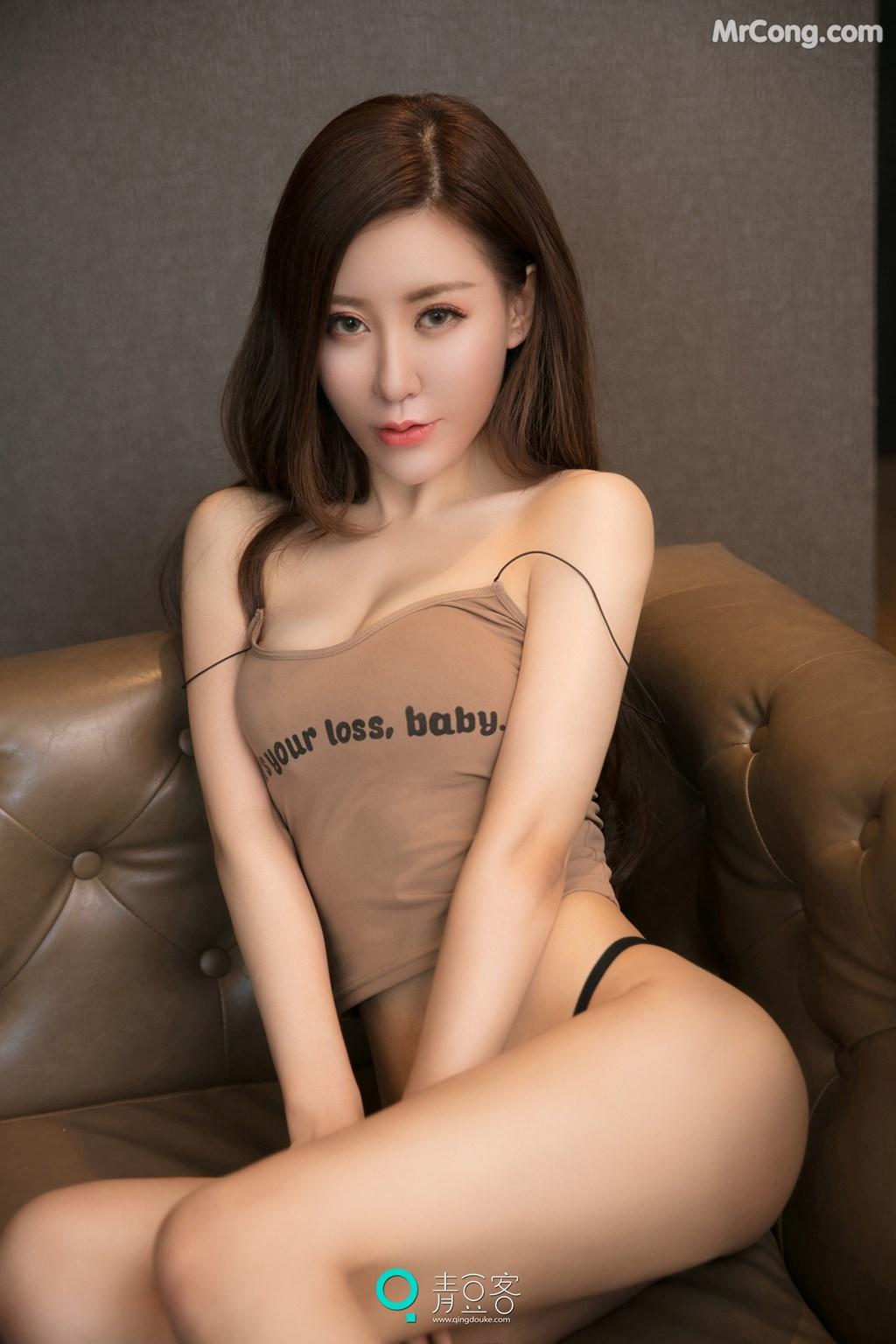Image QingDouKe-2017-10-12-Qiao-En-Xi-MrCong.com-002 in post QingDouKe 2017-10-12: Người mẫu Qiao En Xi (乔恩夕) (54 ảnh)