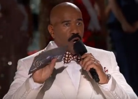 steve harvey fail