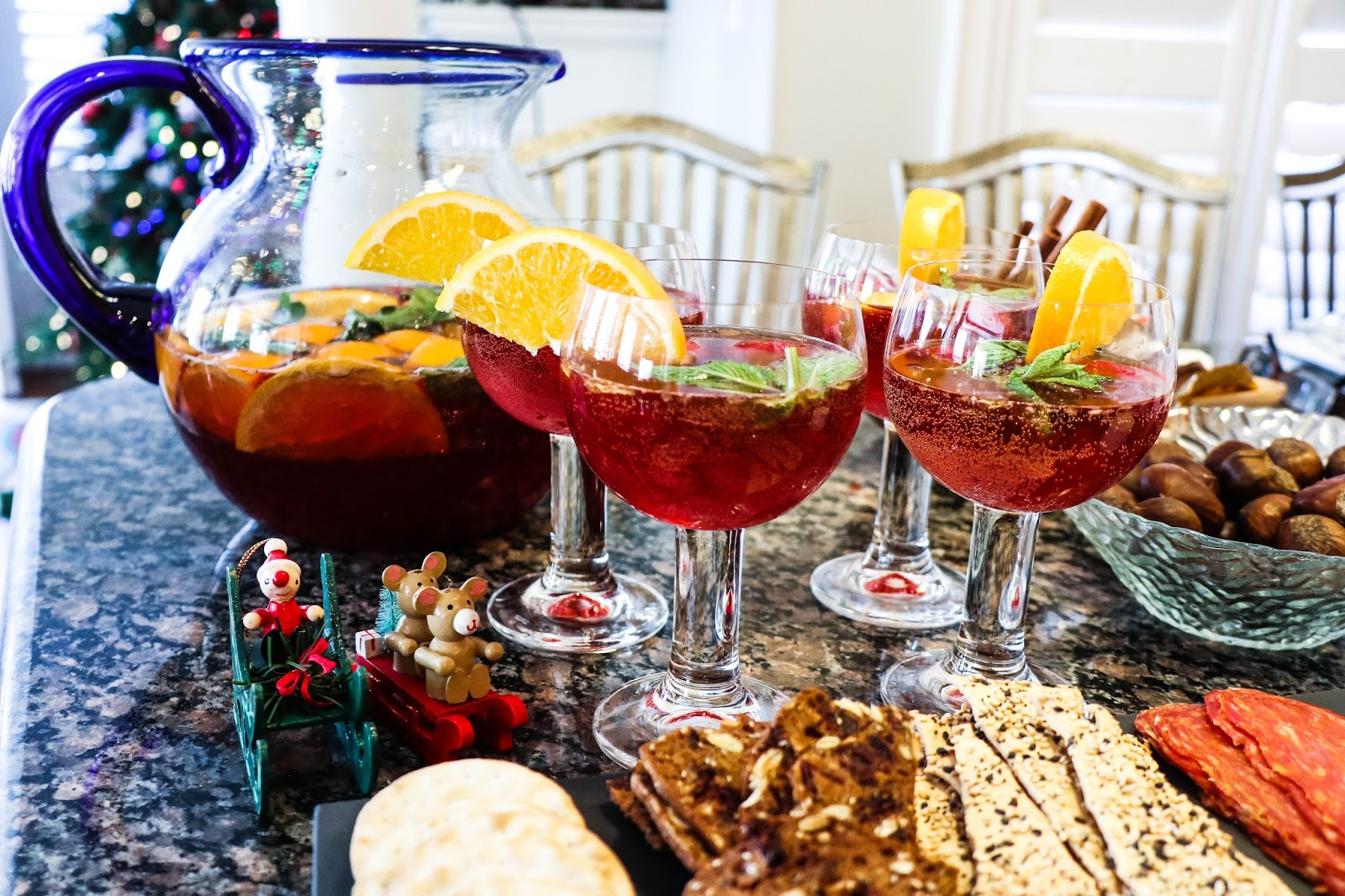 christmas holiday sangria recipe grand marnier
