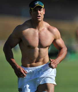 pierre spies muscles topless blue bulls sprinboks
