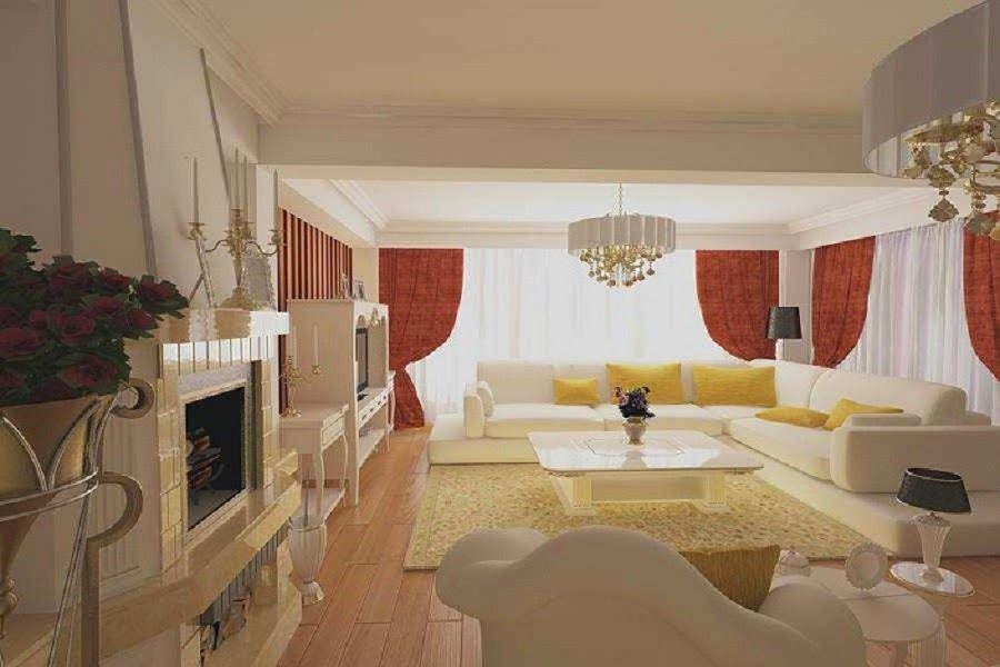 Design interior living casa de lux Bucuresti | design interior living de lux