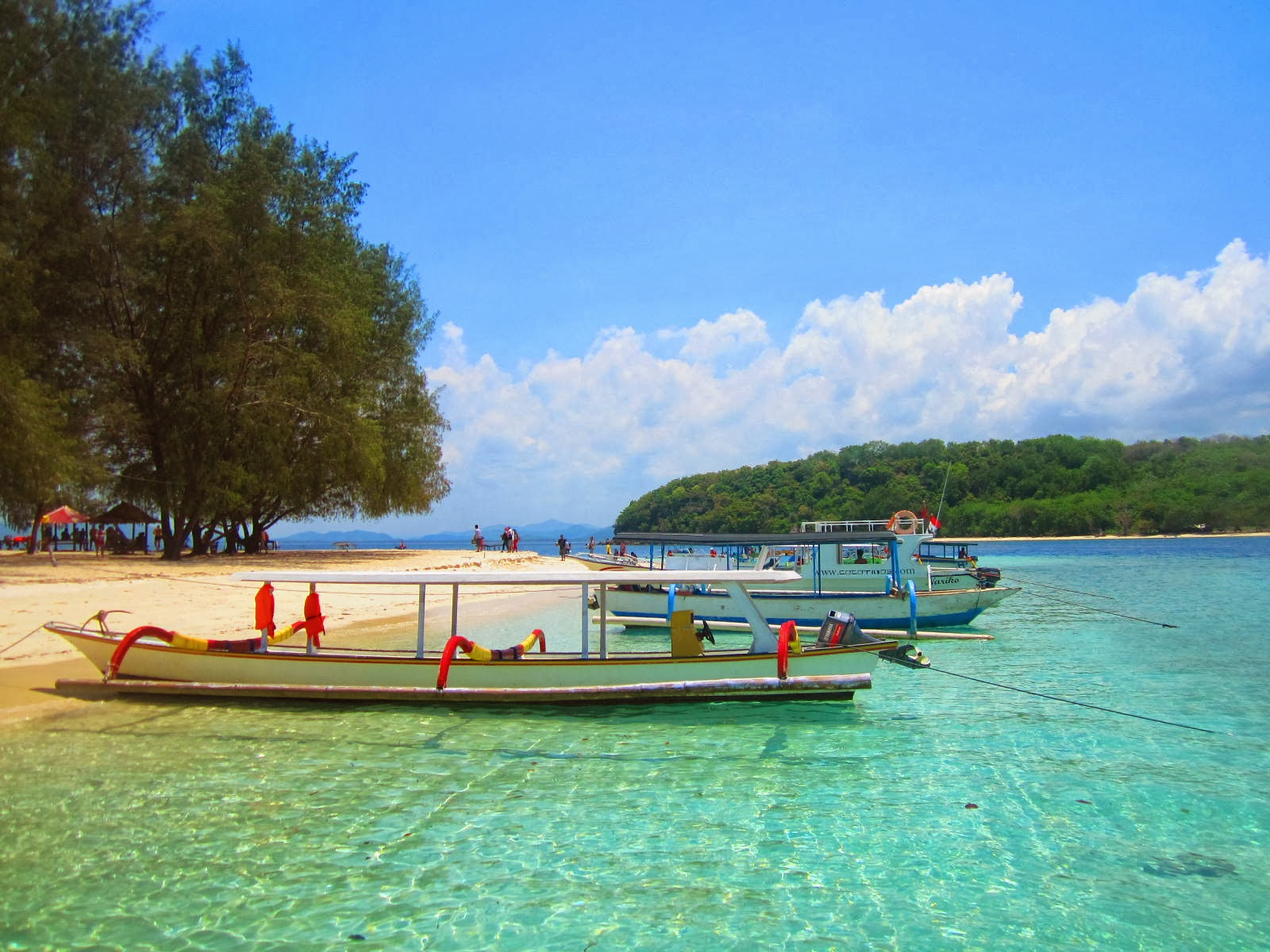 Gili Nanggu in Lombok, Virgin Island in West Lombok