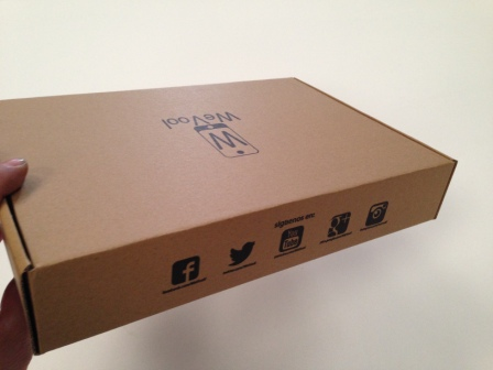 packaging cajas para tablets