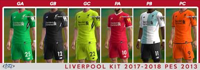 Update Jersey Kits Terbaru PES 2013 Agustus 2017