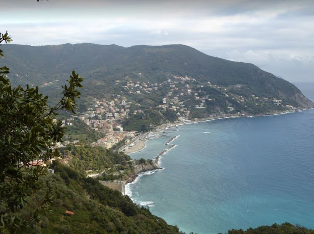 panorama di Moneglia